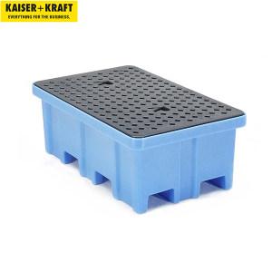 K+K/皇加力 PE贮存盘 116069 长x宽x高1222x817x450mm 适用于2个圆桶 带PE格栅 1个