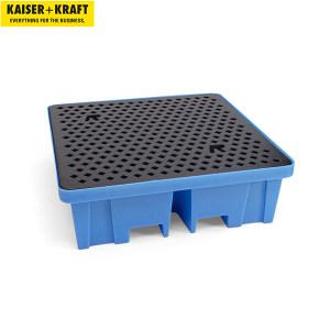 K+K/皇加力 PE贮存盘 116070 长x宽x高1220x1220x390mm 适用于4个圆桶 带PE格栅 1个