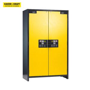 K+K/皇加力 asecos工业用危险品存储柜 90分钟防火 710993 高x宽x深1955x1200x615mm 金黄色门 1个
