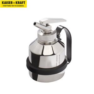 K+K/皇加力 分装和运输罐 984717 带精密剂量喷口 高210mm 1升容量 1个
