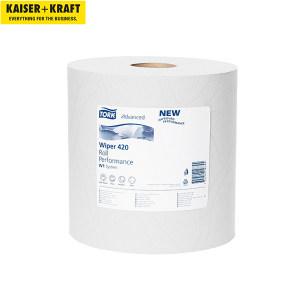 K+K/皇加力 清洁纸卷 705225 混合级2层 白色 纸张尺寸235x340mm 1包