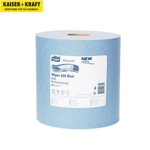 K+K/皇加力 清洁纸卷 516323 混合级2层 蓝色 纸张尺寸235x340mm 1包