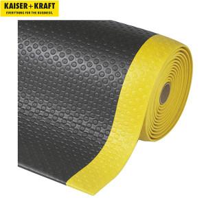 K+K/皇加力 符合人体工程学的地垫 969500 乙烯泡沫 黑色/黄色 宽600mm 1米