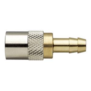 MOULDPRO/默铂 直通无阀快速接头 20K10 接口DN10 快速接头 黄铜 1包