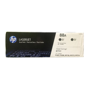 HP/惠普 88A 硒鼓(双包装) CC388AD 黑色 1件