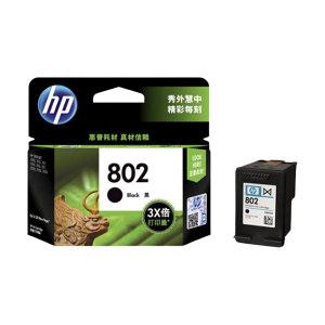HP/惠普 墨盒 CH563ZZ 802 黑色 1件