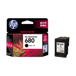HP/惠普 墨盒 F6V27AA 680 黑色 1件