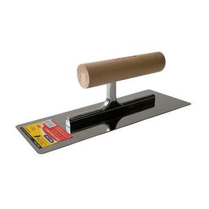 CRISTIN/克里斯汀 高抛光不锈钢木柄抹泥刀 D8320 240mm×80/90mm 1把