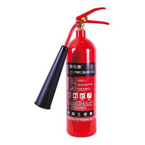 OLT/欧伦泰 手提式二氧化碳灭火器 MT/2-I 灭火剂重2kg 1个