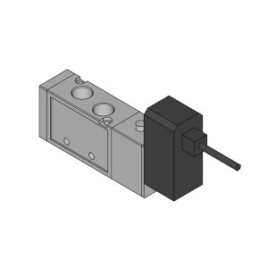 PNEULEAD/纽立得 VG2000系列五通防爆电磁阀 VG2220-02-4/5EX 两位五通 直接出线式 接口Rc1/4 AC220V/DC24V 1台