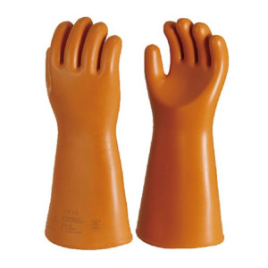 ANQUAN/安全 40kv用绝缘手套 S040 橙色 400±15mm 交流电压35kV 1付