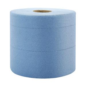 KIMBERLY-CLARK/金佰利 WYPALL*劲拭*L10大卷式中央抽取式擦拭纸 7494 蓝色 18.5*38cm AIRFLEX木浆 1箱