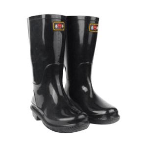 YUFENG/誉丰 黑色加厚中筒雨靴 黑色加厚中筒雨靴 42码 1双