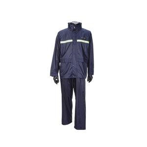 PARADISE/天堂 分体式雨衣套装(带反光条) N211-7AX 2XL 藏青色 1套