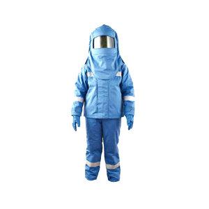 SRO/圣欧 6.5Cal防电弧套装 ARC-06 L 蓝色 包含衣服套装/头罩/手套以及脚套 1套