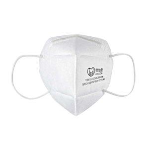 POWECOM/保为康 折叠型颗粒物防护口罩 1860 KN95 耳戴式 白色 2个 1包