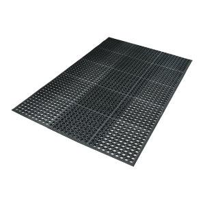 RISMAT/丽施美 特豪           孔式橡胶防滑垫 XJAS-060090 黑色 0.60m*0.90m 1块