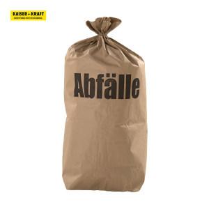 K+K/皇加力 褐色纸质垃圾袋 408921 容量70L 宽×高550×850mm 每包装100只 1包
