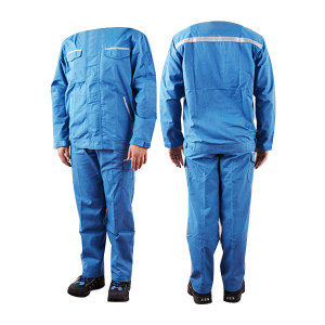 SRO/圣欧 9.1Cal防电弧分体服 JKH22/PTH22-ARC09 L 蓝色 1套