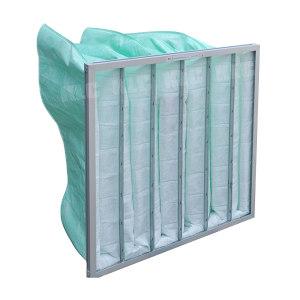 KLC 袋式中效过滤器 538*435*292 6B铝框 1件