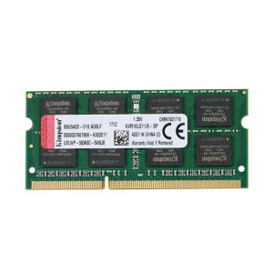 KINGSTON/金士顿 笔记本内存 DDR3 1600 容量8GB 速度DDR3 1600 CL值11 工作电压1.5V 1个