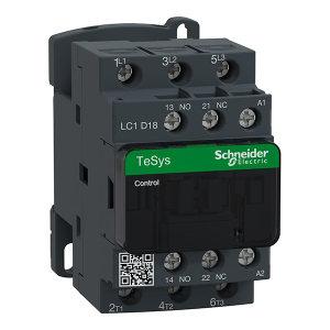 SCHNEIDER/施耐德电气 TESYS D系列交流接触器 LC1-D18M7C 1个