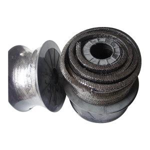 UNITEX/寰泰 油浸石墨石棉盘根 20x20mm UP2100-20 浸油(含石墨粉成分) 1卷