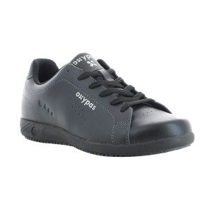 OXYPAS/欧派适 EVAN男款行政鞋 027904 43码 黑色 1双