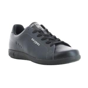 OXYPAS/欧派适 EVAN男款行政鞋 027904 45码 黑色 1双