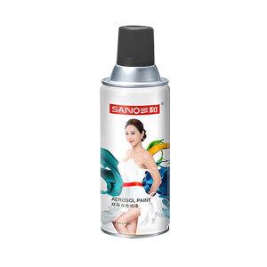 SANO/三和 环保水性喷漆 J8A4-60-230 4哑光黑 350mL 1罐