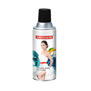 SANO/三和 环保水性喷漆 J8A39-60-230 39黑色 350mL 1罐