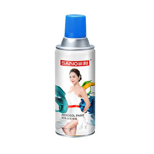 SANO/三和 环保水性喷漆 J8A142-60-230 142解放蓝 350mL 1罐