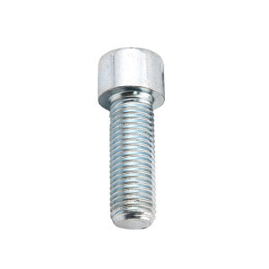 ZKH/震坤行 内六角圆柱头螺钉 8.8级 蓝白锌 全牙 M4×12 GB/T70.1 粗牙 1个