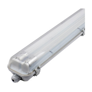 FSL/佛山照明 T8 三防灯(不含光源) 1.2米双管 1260*99*78mm 220V 1套