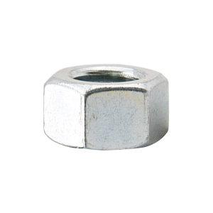 ZKH/震坤行 GB52 六角螺母 碳钢 6级 镀锌 302029004000000200 M4 粗牙 1个