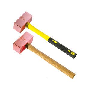 BOFANG/渤防 1414紫铜装柄方锤 1414-001 1.8(4P) 1把