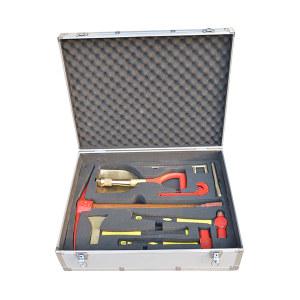BOFANG/渤防 铍青铜防爆矿山抢险专用组合工具箱 1389-BE 32件套 1套