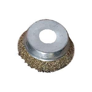 KINGLY/金利 碗型钢丝轮(镀铜丝) 100×16×38-0.3MM 1个
