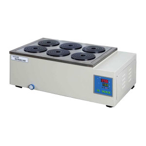 YIHENG/一恒 电热恒温水浴锅 HWS-26 RT+5~99℃ 双列六孔 1台