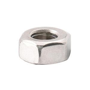 ZKH/震坤行 DIN934 六角螺母 不锈钢304 A2-70 本色 211934003000000000 M3 粗牙 1个