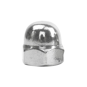 ZKH/震坤行 DIN1587 六角盖形螺母 不锈钢304 A2-70 本色 211409003000000000 M3 1个