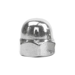 ZKH/震坤行 DIN1587 六角盖形螺母 不锈钢304 A2-70 本色 211409005000000000 M5 1个