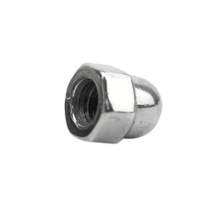 ZKH/震坤行 DIN1587 六角盖形螺母 不锈钢304 A2-70 本色 211409006000000000 M6 1个