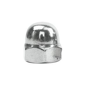 ZKH/震坤行 DIN1587 六角盖形螺母 不锈钢304 A2-70 本色 211409008000000000 M8 1个