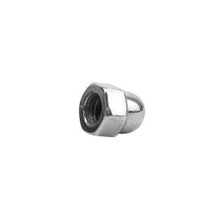 ZKH/震坤行 DIN1587 六角盖形螺母 不锈钢304 A2-70 本色 211409016000000000 M16 1个