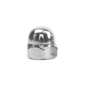 ZKH/震坤行 DIN1587 六角盖形螺母 不锈钢304 A2-70 本色 211409020000000000 M20 1个