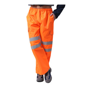 BODYGUARD WORKWEAR/博迪嘉 防风防雨裤 GN300B M 荧光橙 1件