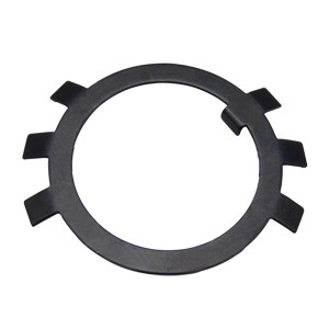 ZKH/震坤行 圆螺母用止动垫圈 A3钢 发黑 φ10 GB/T858 1个