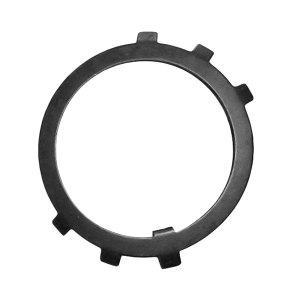 ZKH/震坤行 圆螺母用止动垫圈 A3钢 发黑 φ80 GB/T858 1个
