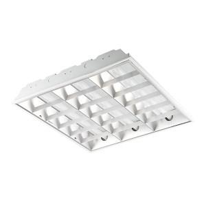 NVC/雷士 LED T8格栅灯盘(不含光源) NDL417SIS 3*9w LED 600*600mm T型龙骨嵌入 1套